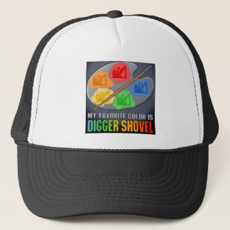 Min favorit- färg är hatten för truckerkeps