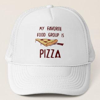 Min favorit- matgrupp är Pizza Truckerkeps