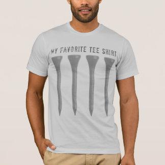 Min favorit- utslagsplatsskjorta t-shirts