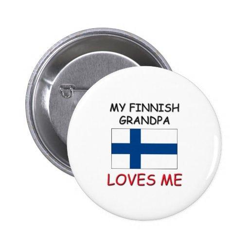 Min finlandssvenska morfar älskar mig pins