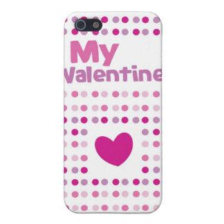 Min finniga kortprodukter för valentin iPhone 5 hud
