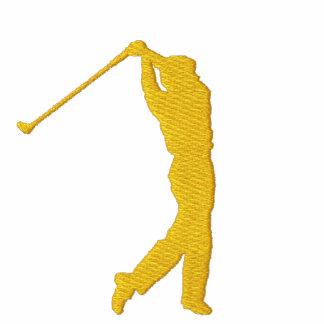 Min för AA-ull för sport Golf broderade jacka