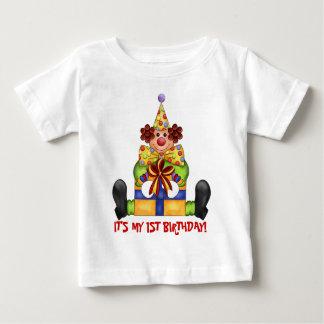Min första födelsedagt-skjorta t-shirt