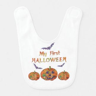 Min första Halloween för baby: Pumpor och Hakklapp