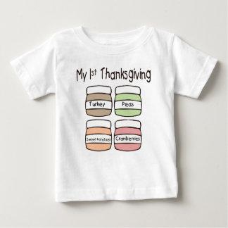 Min första thanksgivingT-tröja T Shirt