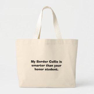 Min gränsCollie är mer smart än din hederstu… Jumbo Tygkasse