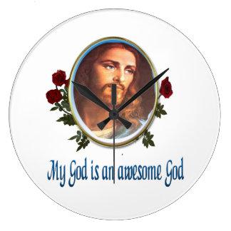 Min gud är en enorm gud stor klocka