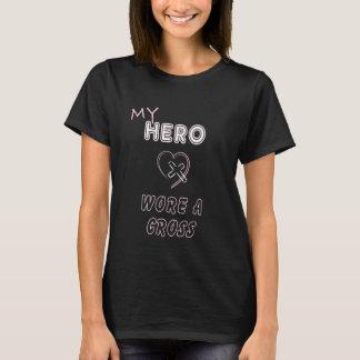 Min hjälte ha på sig kristna T-tröjaJesus för en Tee Shirt