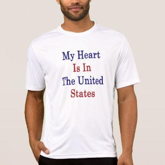 Min hjärta är i Förenta staterna Tröja