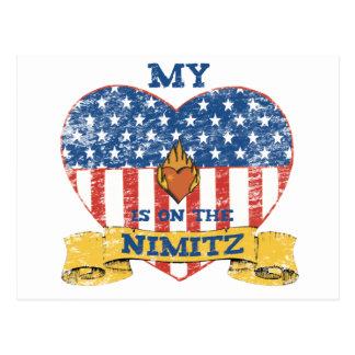Min hjärta är på Nimitzen Vykort