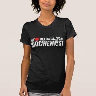Min hjärta hör hemma till en Biochemist T Shirt