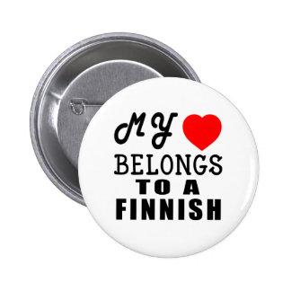 Min hjärta hör hemma till en finska