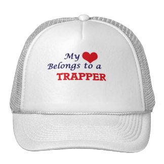 Min hjärta hör hemma till en Trapper Keps