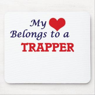 Min hjärta hör hemma till en Trapper Mus Mattor