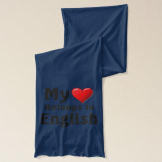 Min hjärta hör hemma till engelska sjal