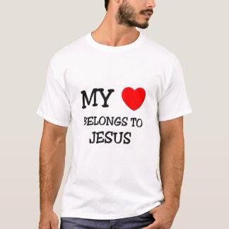 Min hjärta hör hemma till Jesus Tröjor