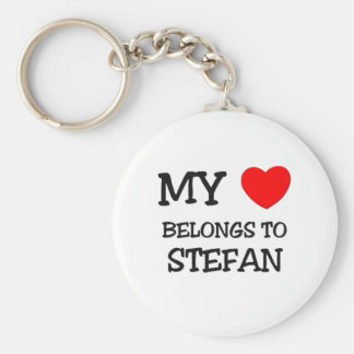 Min hjärta hör hemma till Stefan Rund Nyckelring