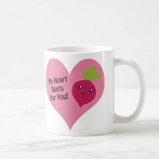 Min hjärtabeta för dig kaffemugg