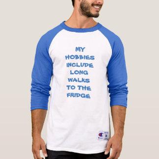 Min hobbies inkluderar går long till kylT-tröja T Shirts
