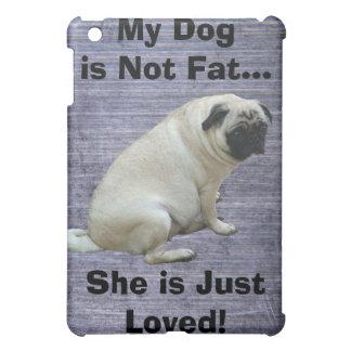 Min hund är inte fet mops iPad mini mobil fodral