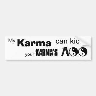 Min Karma kan sparka! Bildekal
