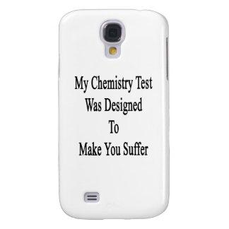 Min kemi Test var designad att göra dig att Galaxy S4 Fodral