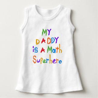 Min klänning för baby för pappaMathSuperhero Tee Shirt