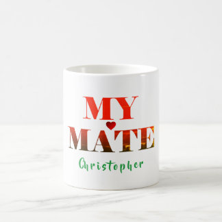 Min kompismuggar för en partner eller en vän kaffemugg