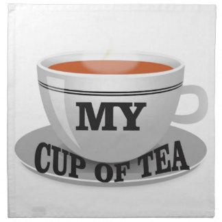 min kopp av tea yeah tygservett