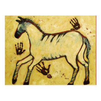 Min Lascaux häst Vykort