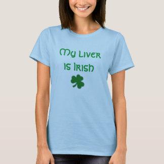 Min lever är irländsk t shirt
