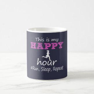 Min lyckliga timme! Kör, sova, repetition… Kaffemugg
