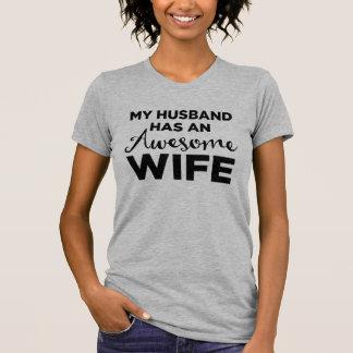 Min make har en enorm fru t-shirts