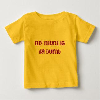 min mamma är da bombarderar t-shirt