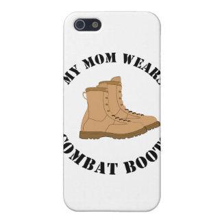 Min mamma ha på sig stridkängor iPhone 5 skal