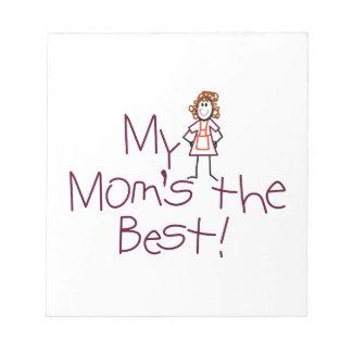 Min mammor det bäst anteckningsblock