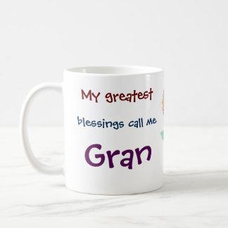 Min mest underbara välsignelseappell mig Gran Kaffemugg