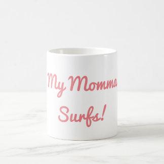 Min Momma surfar muggen Kaffemugg