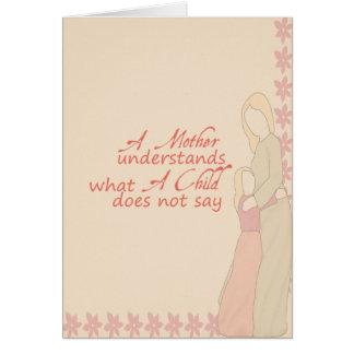 Min mor, min bästa vän TBA 4-22-09 Kort