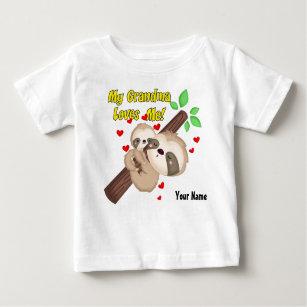 Min mormor älskar mig slothen t shirt