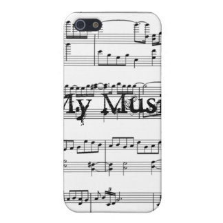 Min musik iPhone 5 cases