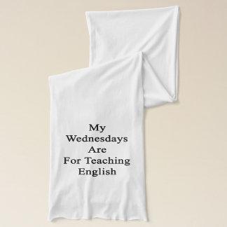 Min onsdagar är för undervisningengelska sjal