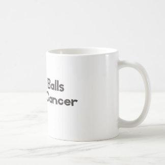 Min överlevande för cancer för bolltaktcancer kaffemugg