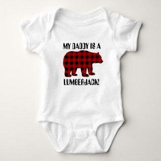 Min pappa är en unisex- bebist-skjorta för tee