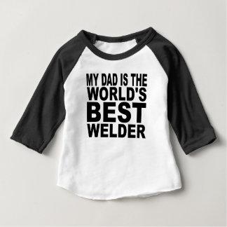 Min pappa är världens bäst Welder Tshirts