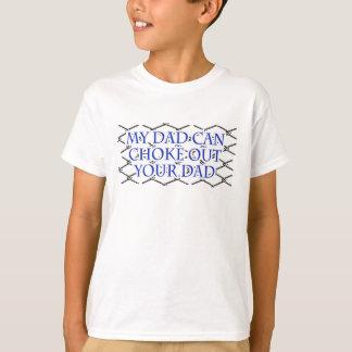 Min pappa kan kväva ut din pappa! Muttahida T-shirt