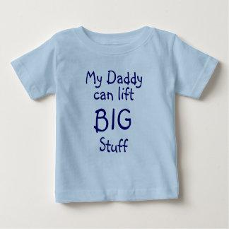 Min pappa, kan lyfta, STORT, saker T-shirts