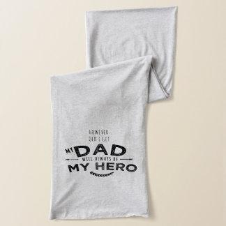 min pappa min hjälte halsduk