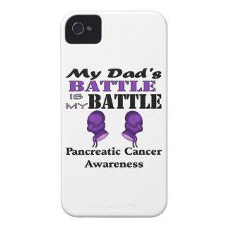 Min pappa strid är min strid, bukspottkörtel- iPhone 4 fodraler