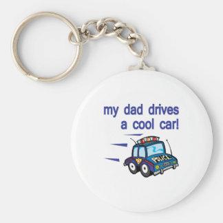 Min pappadirves en kall bil rund nyckelring
